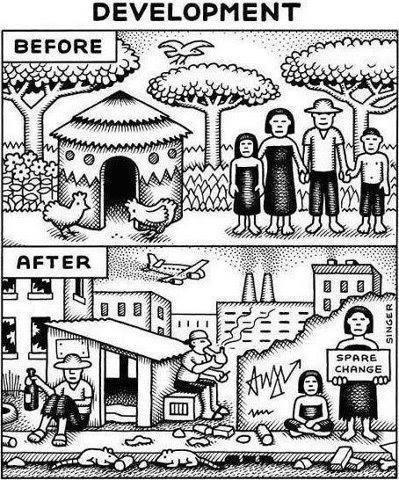 Our Arse-backward Civilisation