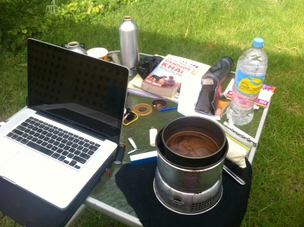 office with coffee